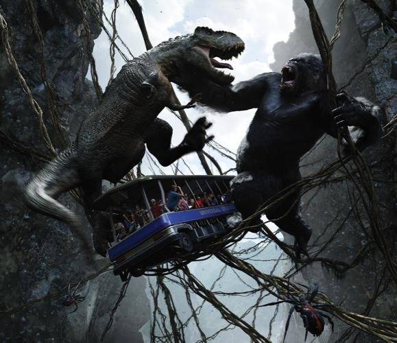 King Kong 360 3d Universal Studios Hollywood King Kong 360 3D – U...