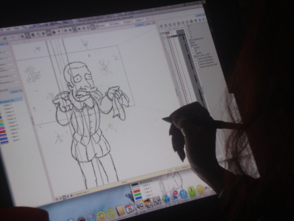 Animation on The Simpsons