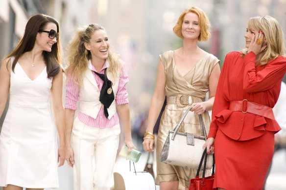 Charlotte, Carrie, Miranda and Samantha