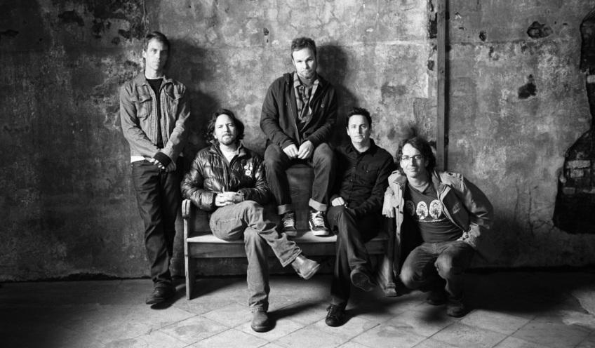 "Promotional Still Pearl Jam Twenty ""PJ20"""