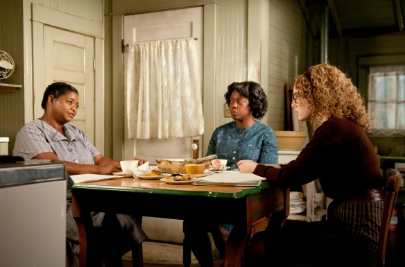 "Emma Stone, Octavia Spencer, and Viola Davis in ""The Help"""