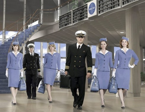 ... of intrigue and world travel through the notion of flight attendants but ...